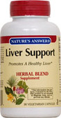 Liver Support 90 vegicaps, Nature's Answer