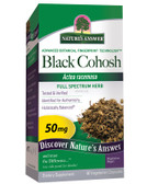 Black Cohosh Root 90 Caps Nature's Answer, Female Hormonal Balance