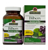 Bilberry Standardized 90 vegicaps Nature's Answer, Eyes