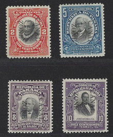 cz027a3. Canal Zone 27-30 Unused LH VF-XF. Fresh and Choice! Outstanding Set!
