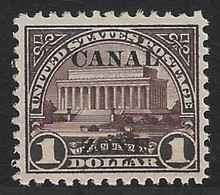cz081c5. Canal Zone 81 Unused VF-XF. Fresh & Bright! Exceptionally Well Centered Example!