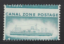 cz149e3. Canal Zone 149 variety Extreme Misperforation Unused NH Very Fine. Striking Variety!