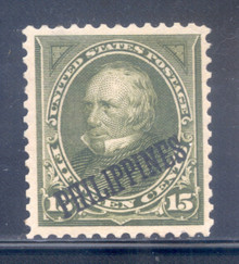 pi218g5. Philippines 218 unused, OG, VF-XF. Large Margins, Beautifully Centered!