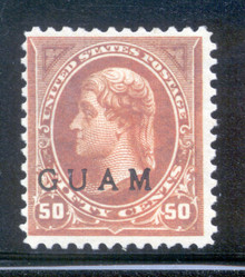 gm11d5. Guam 11 unused OG F-VF. Scarce & Attractive!