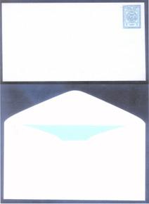 czu08s3. CANAL ZONE U8/9b UNUSED FRESH & VERY FINE. RARE KNIFE P-3A VARIETY. A SHOWPIECE!