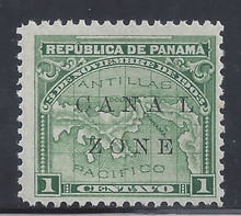 "cz009f4. Canal Zone 9 variety Spaced ""A-L"" unused LH Fresh & F-VF+. Scarce variety only 699 issued!"