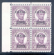 cz098e3. Canal Zone 98, Corner block of 4, Unused, NH, P.O. Fresh & Very Fine. Attractive block!
