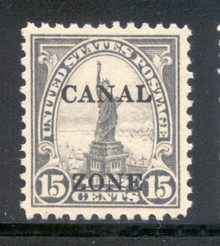 cz090c. Canal Zone 90 Unused, NH, Fresh & VF-XF. Excellent example!