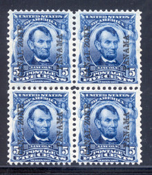 cz006c3. Canal Zone 6 Block of 4 Unused NH F-VF+. Post Office Fresh!