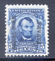 cz006a2. Canal Zone 6 Unused NH Fresh & Very Fine. Scarce thus!