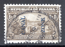 czj04u3. Canal Zone J4 used VF-XF