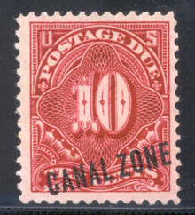 czj03. Canal Zone J3 Unused OG VF-XF. Choice! PSE certificate.