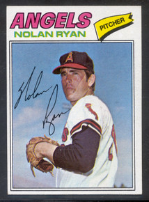 Baseball 1977 Topps 650 Nolan Ryan card NRMT-MT