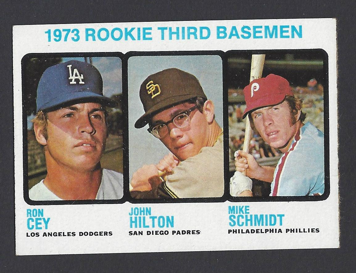 Baseball 1973 Topps 615 Mike Schmidt Rookie Card Hof Philadelphia Phillies 3rd Baseman Nrmt Card