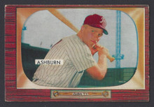 BASEBALL 1955 BOWMAN 130 RICHIE ASHBURN PHILADELPHIA PHILLIES OUTFIELDER EX CARD