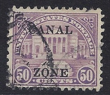 cz094f3. Canal Zone 94 Used, Very Fine+. Very Scarce & Attractive Used Example!