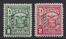 cz068c3. Canal Zone 68-69 Unused LH Fresh & VF. An Attractive set!