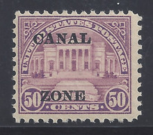 cz080c3. Canal Zone 80 Unused, OG, Fresh & F-VF. Scarce 1st ptg-only 5000 issued!