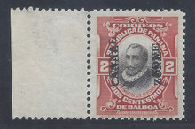 cz056a3. Canal Zone 56a Double Overprint Unused VLH Fresh & Very Fine. Scarce Error! Only 100 issued!