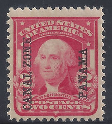 cz005a3. Canal Zone 5 Unused Never Hinged Very Fine+. Post Office Fresh!