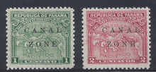 cz009a3. Canal Zone 9-10 unused Never Hinged VF-XF. Post Office Fresh & Choice!