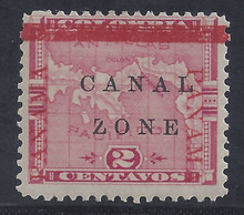 "cz011g6. Canal Zone 11 variety unused LH Fresh & F-VF. Broken ""Z"" subsequently replaced by Antique Letter. Scarce Position Piece!"