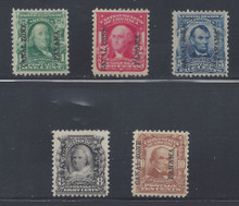 cz004a1. Canal Zone 4-8 Unused LH Fresh & Very Fine. Select Set!