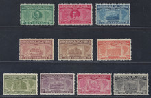 cb284e3. Cuba Republic 284-293 unused LH Fresh & Very Fine. Attractive Complete Set!