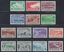 cb324e3. Cuba Republic 324-331, C18-C21, CE1 & E8 unused LH Fresh & VF-XF. Attractive and Scarce Complete Set!