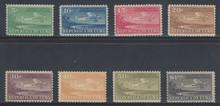 cbC004c3. Cuba Republic C4-C11 unused NH Fresh & Very Fine. Attractive Airmail Set Complete!