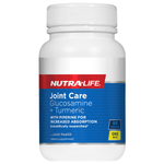 Nutralife Joint Care Glucosamine + Turmeric 60 Caps NZ