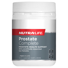 Nutra-Life Prostate Complete 30 capsules NZ