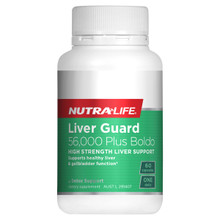 Nutra-Life Liver Guard 56000 Plus Boldo NZ