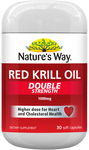 Nature's Way Red Krill Oil Double Strength 1000mg NZ