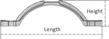 13 inch plastic fender diagram