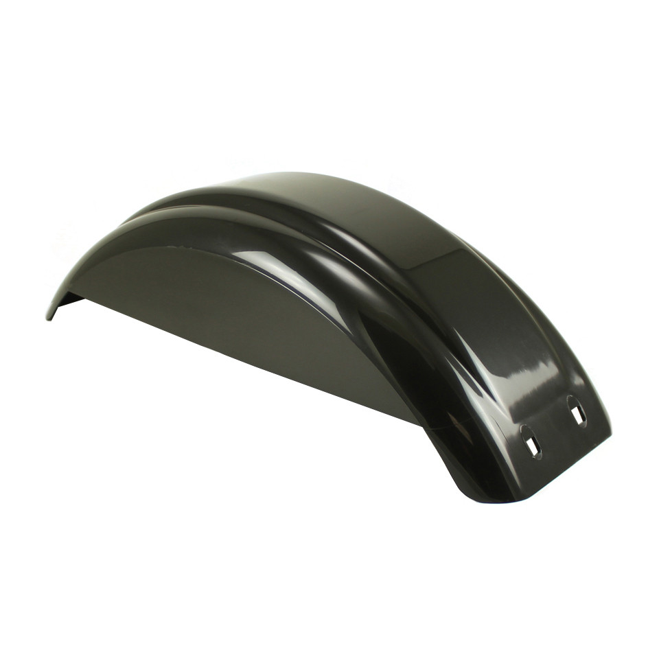 8-12 Inch Black Plastic Fender - With Skirt
