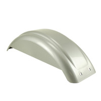 8-12 Inch Silver Plastic Fender - With Skirt