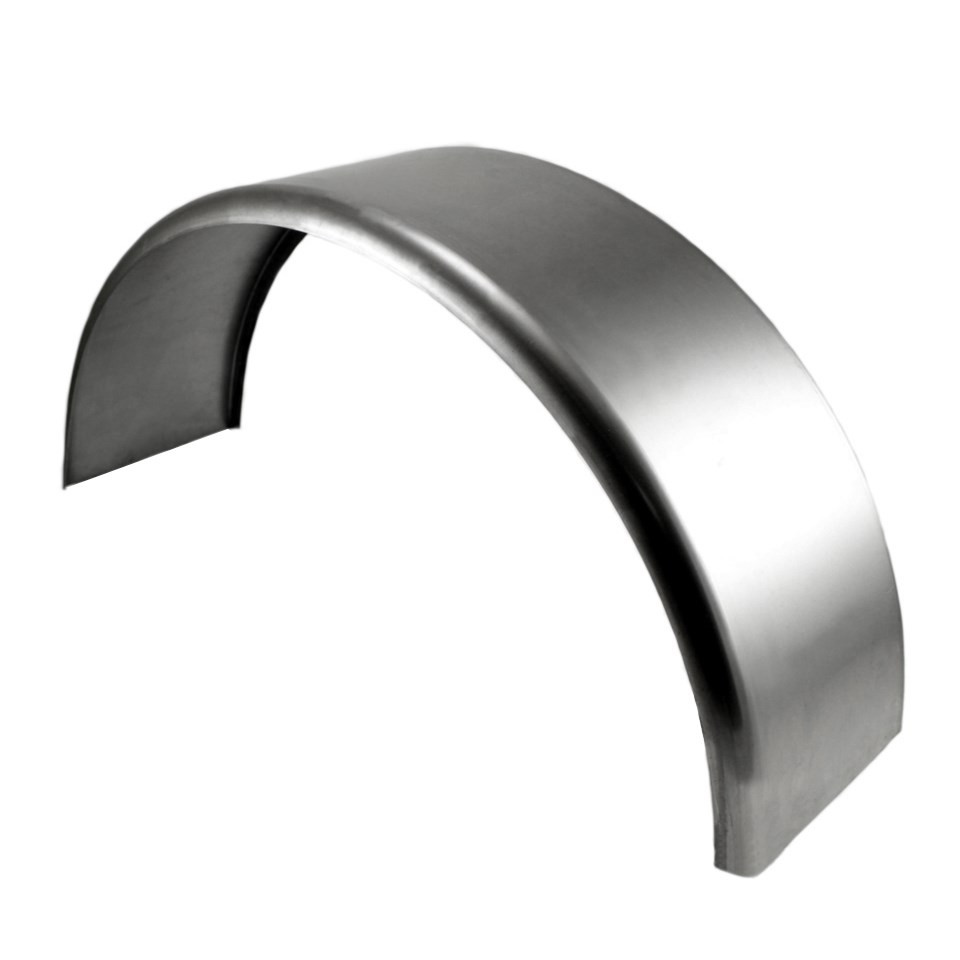 "Single Axle Round Steel Fender 32""x10-3/4""x15"""