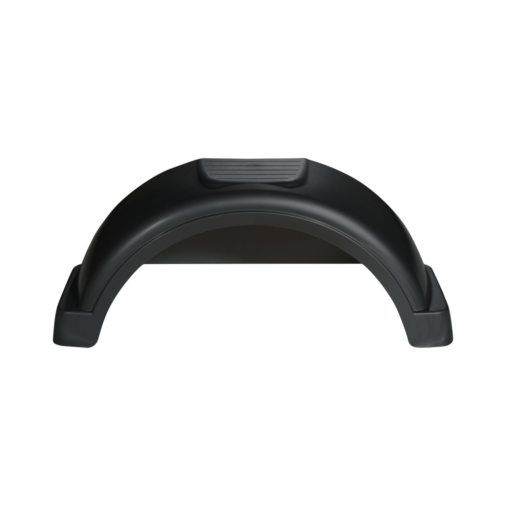 Fulton Black Plastic Trailer Fender - 14