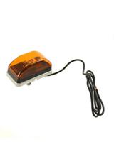 Stainless Steel Amber Stud Mount Trailer Marker Light