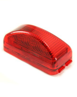 Red LED Clearance Light - Snap lock PC Rated