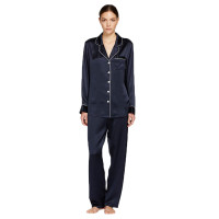 Silk Long Pajama Set