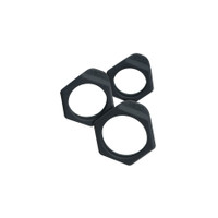Bolt Ring Set - Black