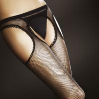 Passion Suspender Tights