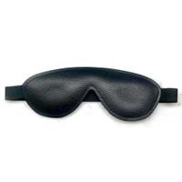 Leather Blindfold - Black