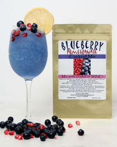 Blueberry-Pomegranate wine slush mix