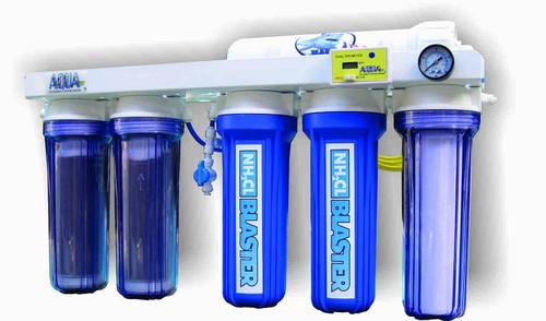 AquaFX Mako RO/DI System with Chloramine Blaster Upgrade (100 GPD)