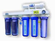 AquaFX Mako RO/DI System with Chloramine Blaster Upgrade (200 GPD)