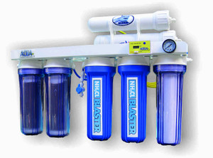 AquaFX Mako RO/DI System with Chloramine Blaster Upgrade (200 GPD)