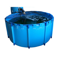 "Round Koi/Shark Pond Show Tank 63"" x 31.5"" (425gal)"
